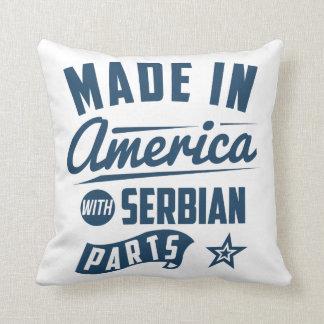セルビアの部品が付いているアメリカで作られる クッション