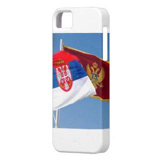 セルビアモンテネグロのsrbijaのcrnaのgora iPhone SE/5/5s ケース