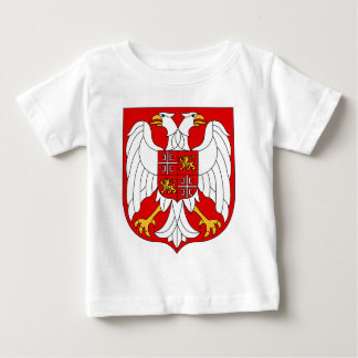 セルビア及びモンテネグロの役人の記号紋章付き外衣 ベビーTシャツ