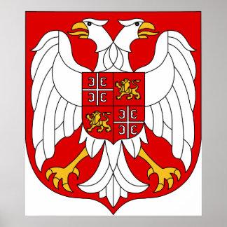 セルビア及びモンテネグロの役人の記号紋章付き外衣 ポスター