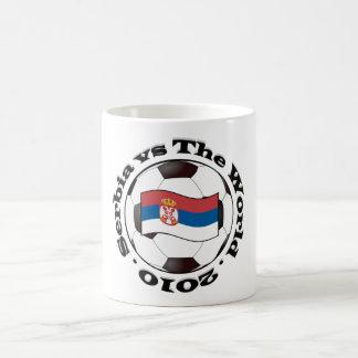 セルビア対世界 コーヒーマグカップ