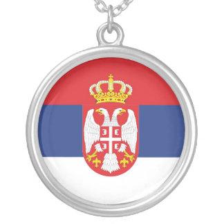セルビア シルバープレートネックレス