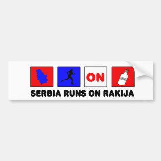 セルビア バンパーステッカー