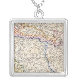 セルビア、ボスニア シルバープレートネックレス