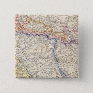 セルビア、ボスニア 5.1CM 正方形バッジ
