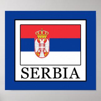 セルビア ポスター