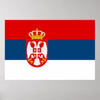 セルビア(逆)、セルビア ポスター