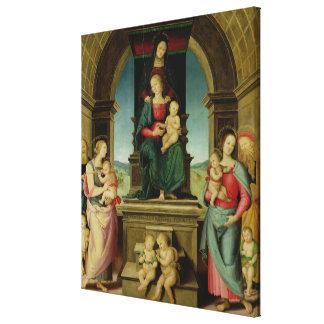 セントアンナ、c.1507の系列 キャンバスプリント