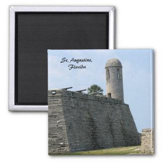 セントオーガスティンフロリダの城砦のcastillo de San Marcos マグネット