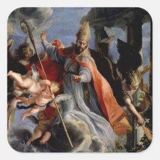 セントオーガスティン1664年の勝利 スクエアシール