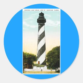 セントオーガスティン、フロリダの近くのアナスタシアの灯台 ラウンドシール