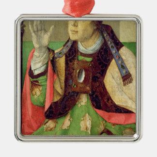 セントオーガスティン、c.1475のポートレート メタルオーナメント