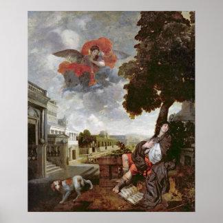 セントオーガスティン、c.1663の転換 ポスター