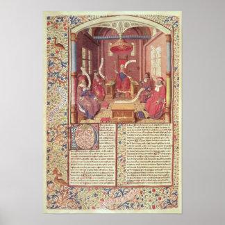 セントオーガスティン、Epicurus、ゼーノ、Antiochus及び ポスター