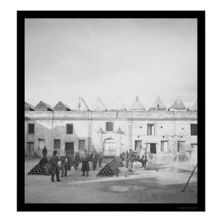 セントオーガスティン、FL 1864年の中の城砦マリオン ポスター