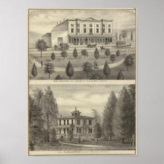 セントジェームズのホテル、住宅 ポスター