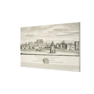 セントジェームズのWestmin市の宮殿そして部品 キャンバスプリント