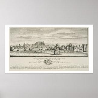 セントジェームズのWestmin市の宮殿そして部品 ポスター