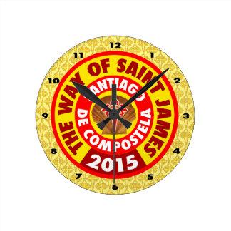 セントジェームズ2015年の方法 ラウンド壁時計