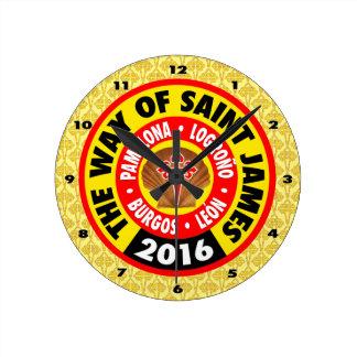 セントジェームズ2016年の方法 ラウンド壁時計