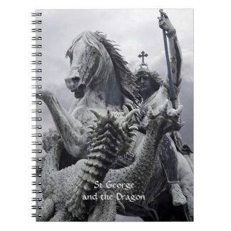 セントジョージおよびドラゴン ノートブック