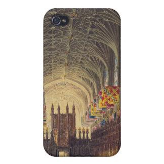 セントジョージのチャペル、Windsorの城、fのインテリア iPhone 4/4S カバー
