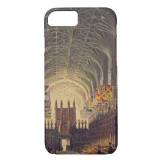 セントジョージのチャペル、Windsorの城、fのインテリア iPhone 8/7ケース