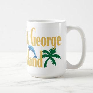 セントジョージの島フロリダ コーヒーマグカップ