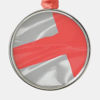 セントジョージの絹の旗 メタルオーナメント