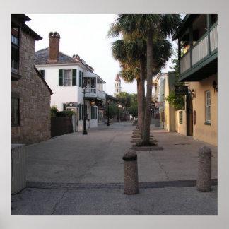 セントジョージの通り、セントオーガスティン ポスター