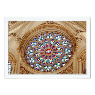 セントジョーゼフのカテドラル-ステンドグラス窓 カード