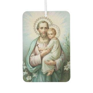 セントジョーゼフのベビーのイエス・キリストユリ カーエアーフレッシュナー