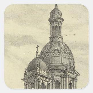 セントジョーゼフの教会 スクエアシール