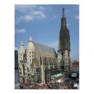 セントスチーブンのカテドラル、ウィーンオーストリア ポストカード