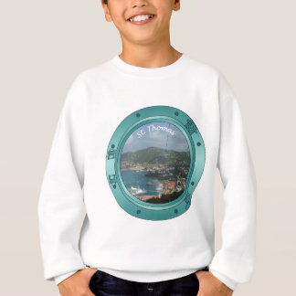 セントトーマスの蒸気口 スウェットシャツ