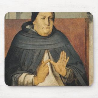 セントトーマスアクィナスc.1475のポートレート マウスパッド