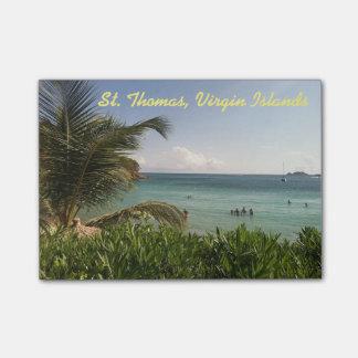 セントトーマス、バージン諸島のノート ポストイット