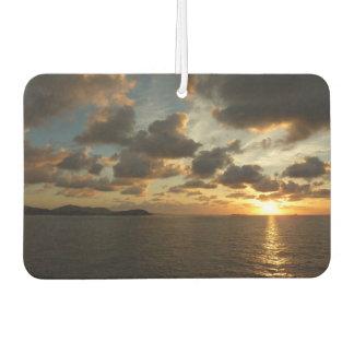 セントトーマスI米国バージン諸島の日の出 カーエアーフレッシュナー