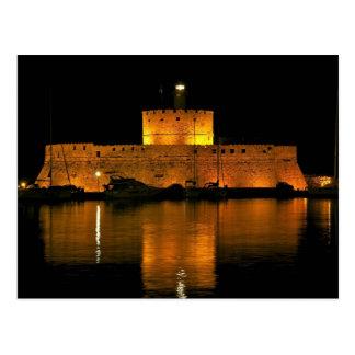 セントニコラスの要塞- Šibenik、クロアチア 葉書き