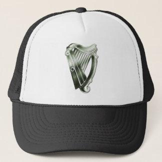 セントパトリックのアイルランドの帽子の日の緑のハープ キャップ