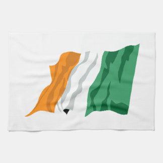 セントパトリックのアイルランドの旗の台所タオル キッチンタオル