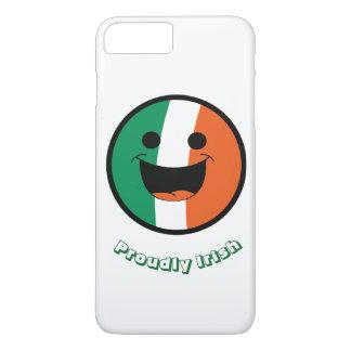 セントパトリックのアイルランドの旗、DIYのスマイリーフェイスの不良 iPhone 8 PLUS/7 PLUSケース