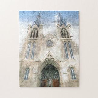 セントパトリックのゴシック様式復活教会芸術 ジグソーパズル
