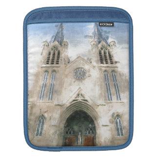 セントパトリックのゴシック様式復活教会芸術 iPadスリーブ