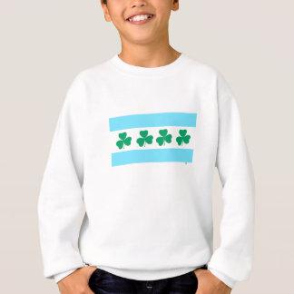 セントパトリックのシカゴの染料川の緑 スウェットシャツ