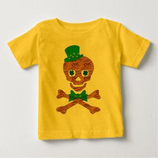 セントパトリックのトラのスカル ベビーTシャツ