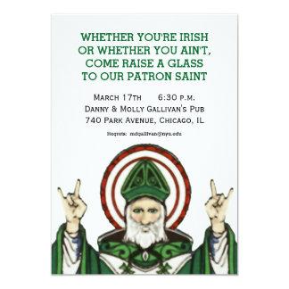 セントパトリックのパーティの招待状 カード