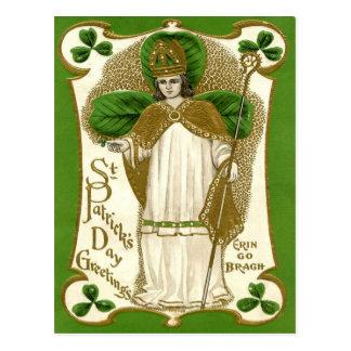 セントパトリックのビクトリアンな日 ポストカード