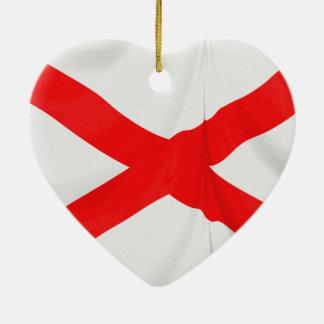 セントパトリックの北アイルランドSaltire セラミックオーナメント