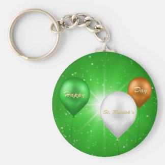 セントパトリックの日のアイルランドの気球- Keychain キーホルダー